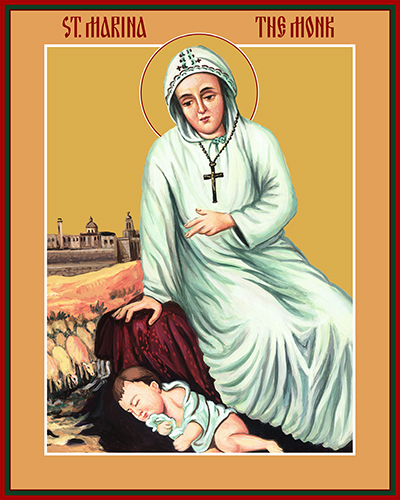 Image result for saint marina the monk